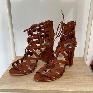 Women's block heel sandals